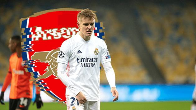 REPORT EXPLAINS WHY REAL MADRID ARE ALREADY UNHAPPY WITH MARTIN ODEGAARD AT ARSENAL - Bóng Đá